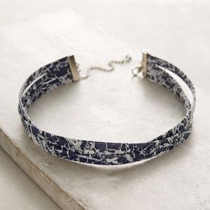Anthropologie Layered Twist Necklace